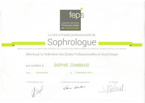 Parcours Sophie Chabaud Sophrologue